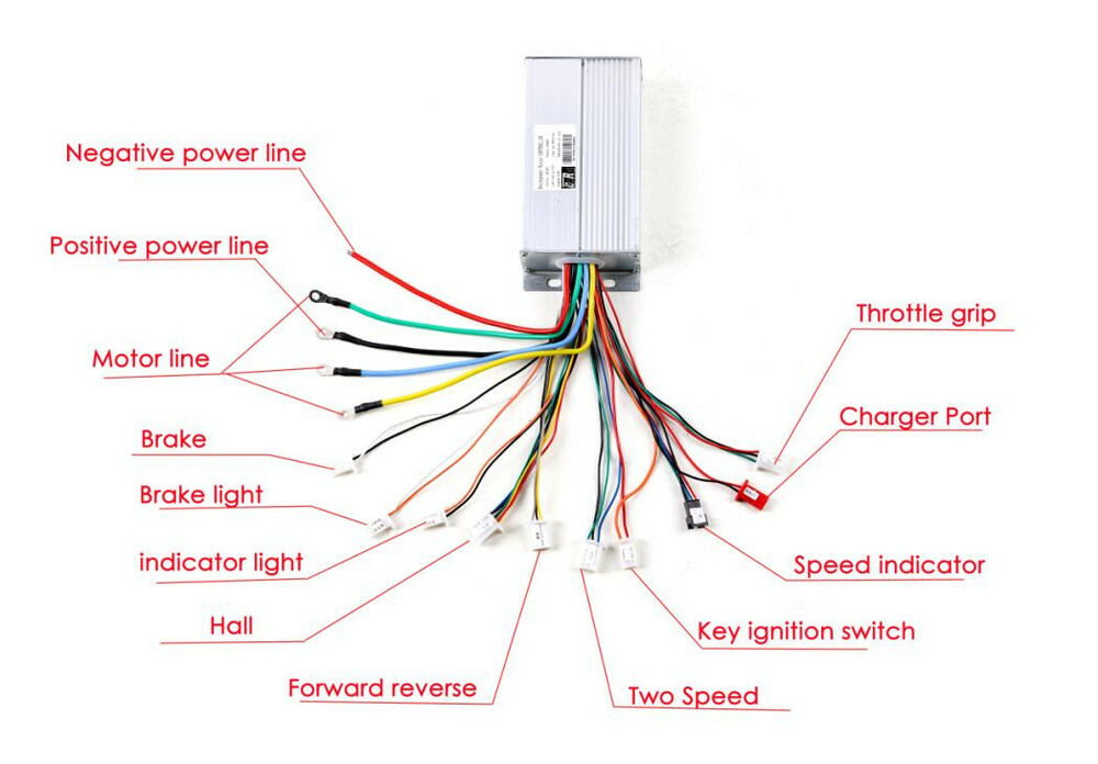 48v 1800w Brushless Controller Unit For Electric Atv Go