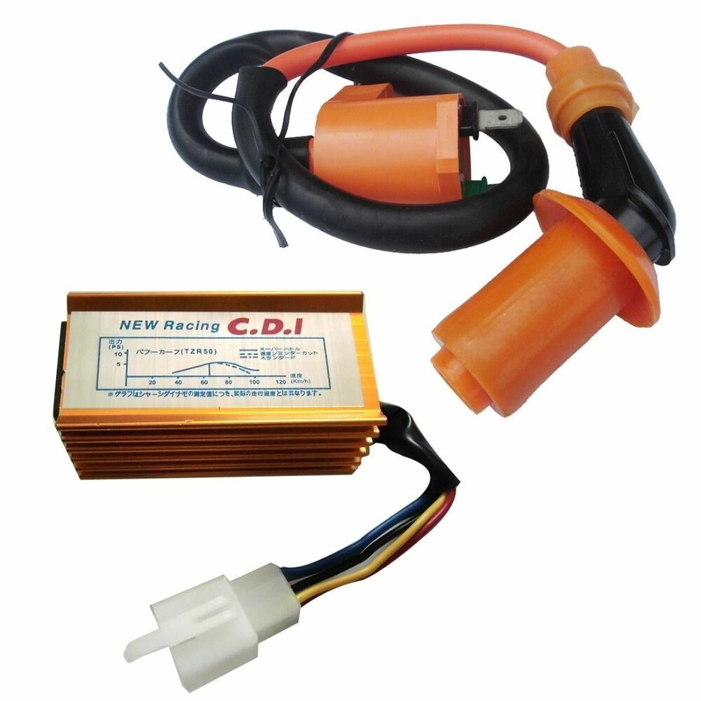 racing ignition coil cdi for 90 110 125 150cc 160cc pit