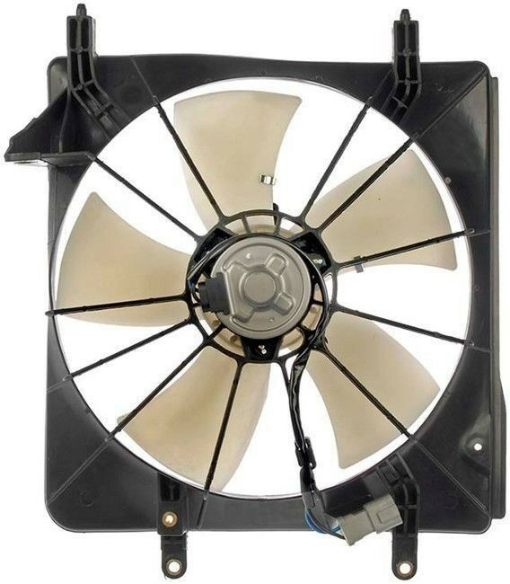 New Front Radiator Cooling Fan Assembly Fits 2004 2008 Acura Tsx