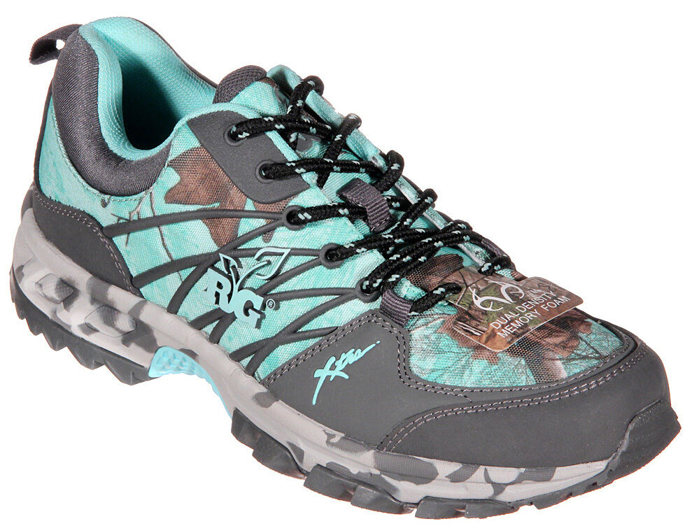 realtree s ms bobcat hiking tennis shoes in