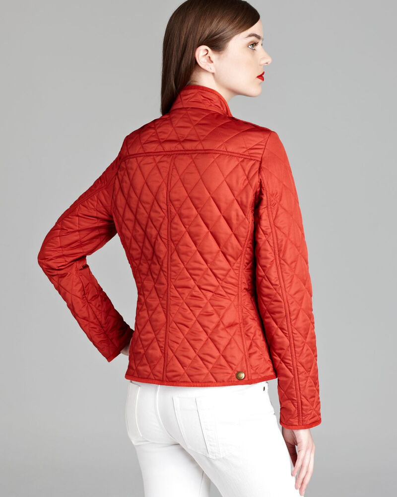 Womens quilted burberry jacket