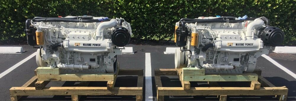 Caterpillar Cat 3126b  Marine Diesel Engine