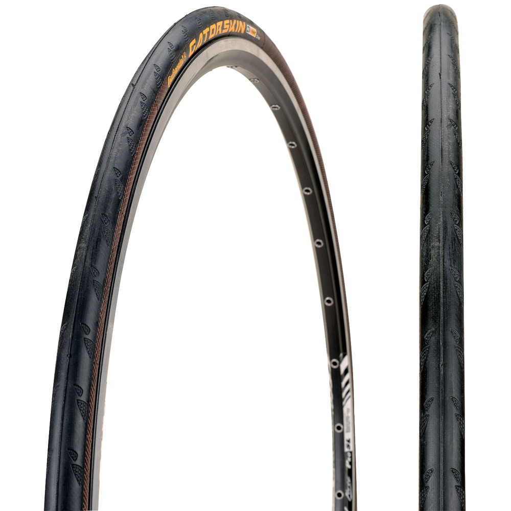 continental gatorskin tire 700x23c wire bead road tour