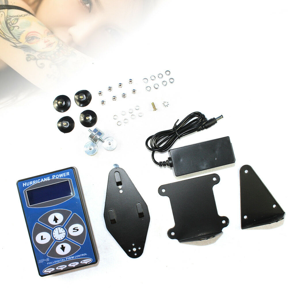 Professional tattoo hurricane hp 2 lcd digital display for Tattoo supplies ebay
