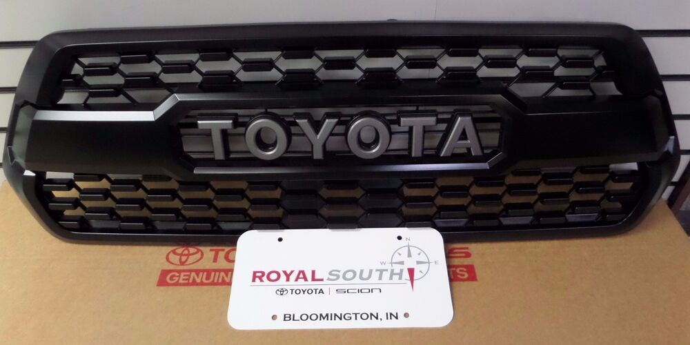 toyota tacoma 2016 2017 2018 trd pro grille base insert. Black Bedroom Furniture Sets. Home Design Ideas