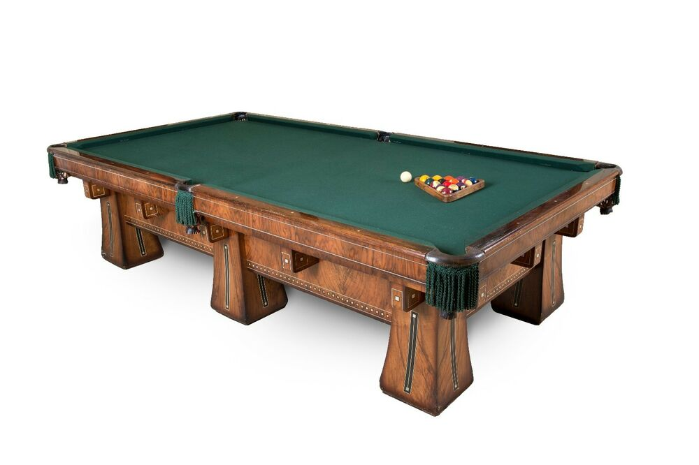 antique brunswick balke collender co kling billiards table priced to sell ebay. Black Bedroom Furniture Sets. Home Design Ideas