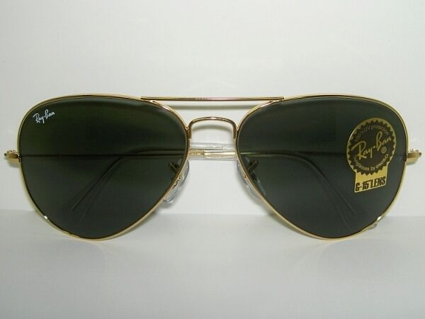 9696240b4f9f8 Details about New RAY BAN Sunglasses AVIATOR Large Metal II Gold Frame RB  3026 L2846 62mm