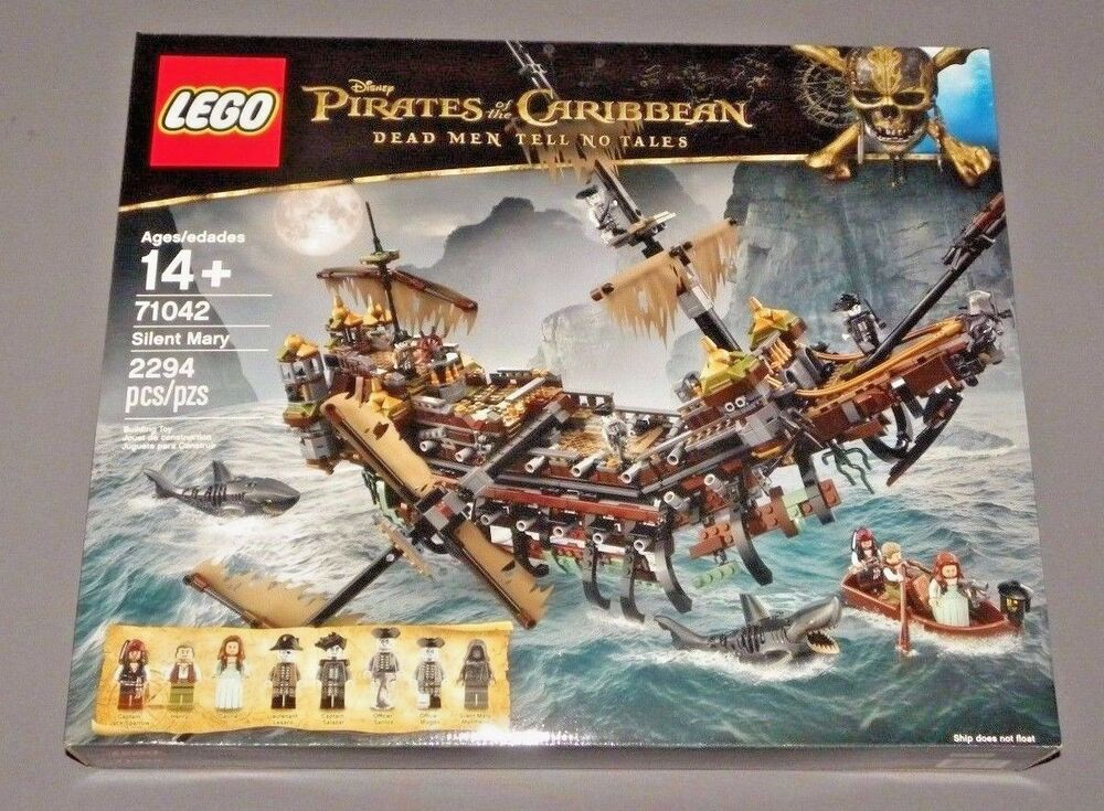 Lego Pirates Of The Caribbean Silent Mary Pirate Ship Set 71042 Ebay