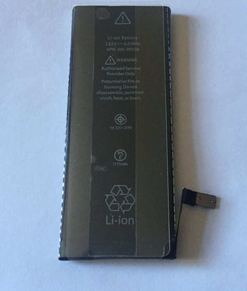 new iphone battery genuine replacement battery for apple iphone 6s 1715mah 3 6660