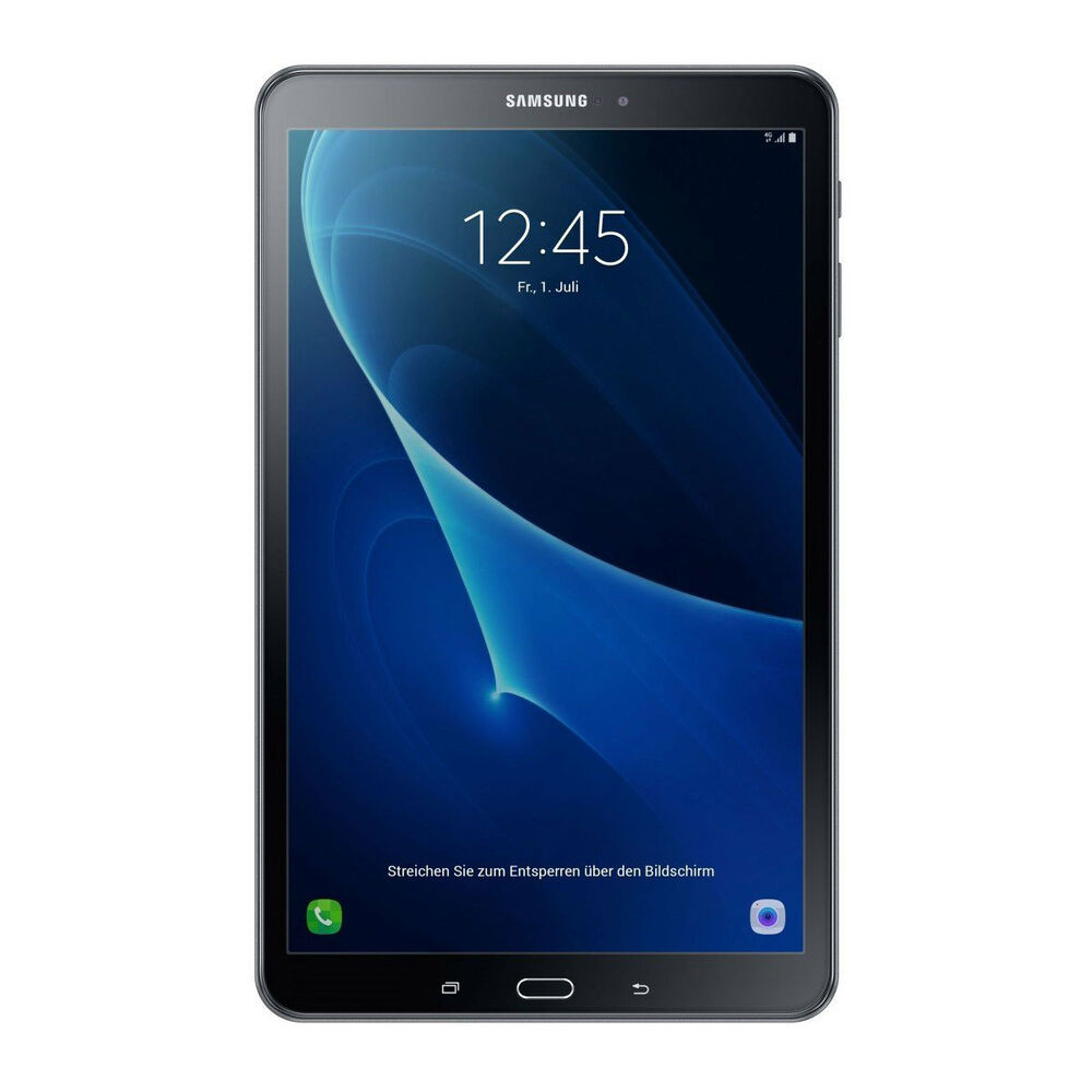 samsung galaxy tab a t585 2016 16gb gsm unlocked wifi 4g 10 1 tablet black ebay. Black Bedroom Furniture Sets. Home Design Ideas