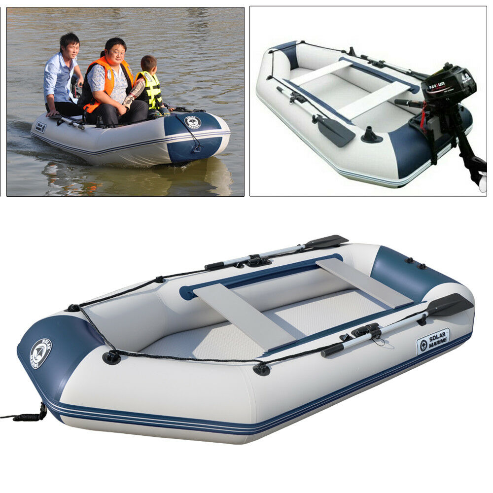 Inflatable boat fishing raft dinghy with for 4 person fishing boat