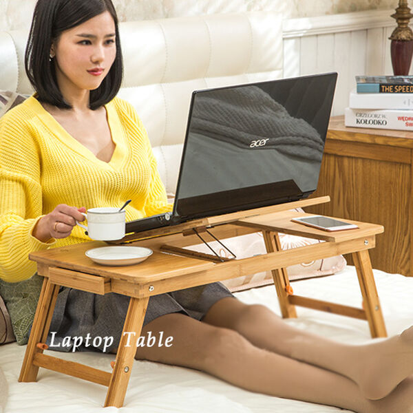 Portable Laptop Computer Desk Bed Sofa Tray Stand Foldable