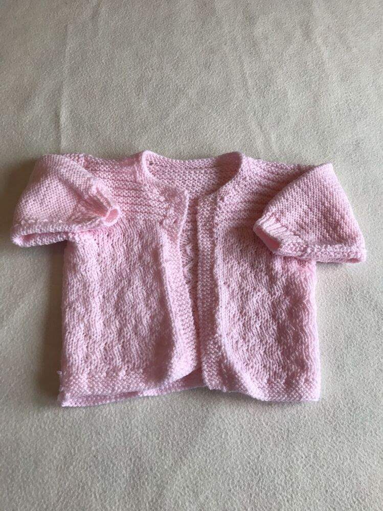 Baby Girls Clothes 0 3 Months Lovely Hand Knitted