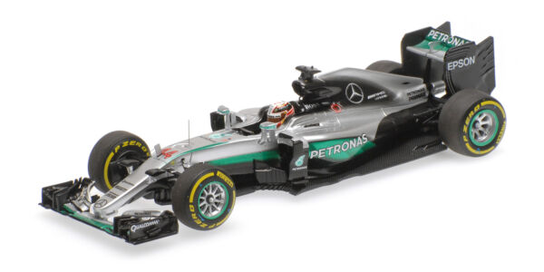 Mercedes Amg W07 Lewis Hamilton Winner Abu Dhabi Gp 2016 1:43 Model MINICHAMPS