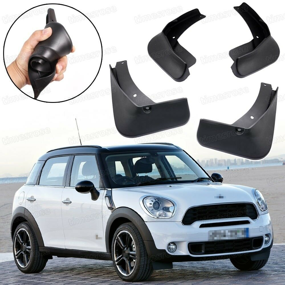 car mud flaps splash guard fender mudguard for mini. Black Bedroom Furniture Sets. Home Design Ideas