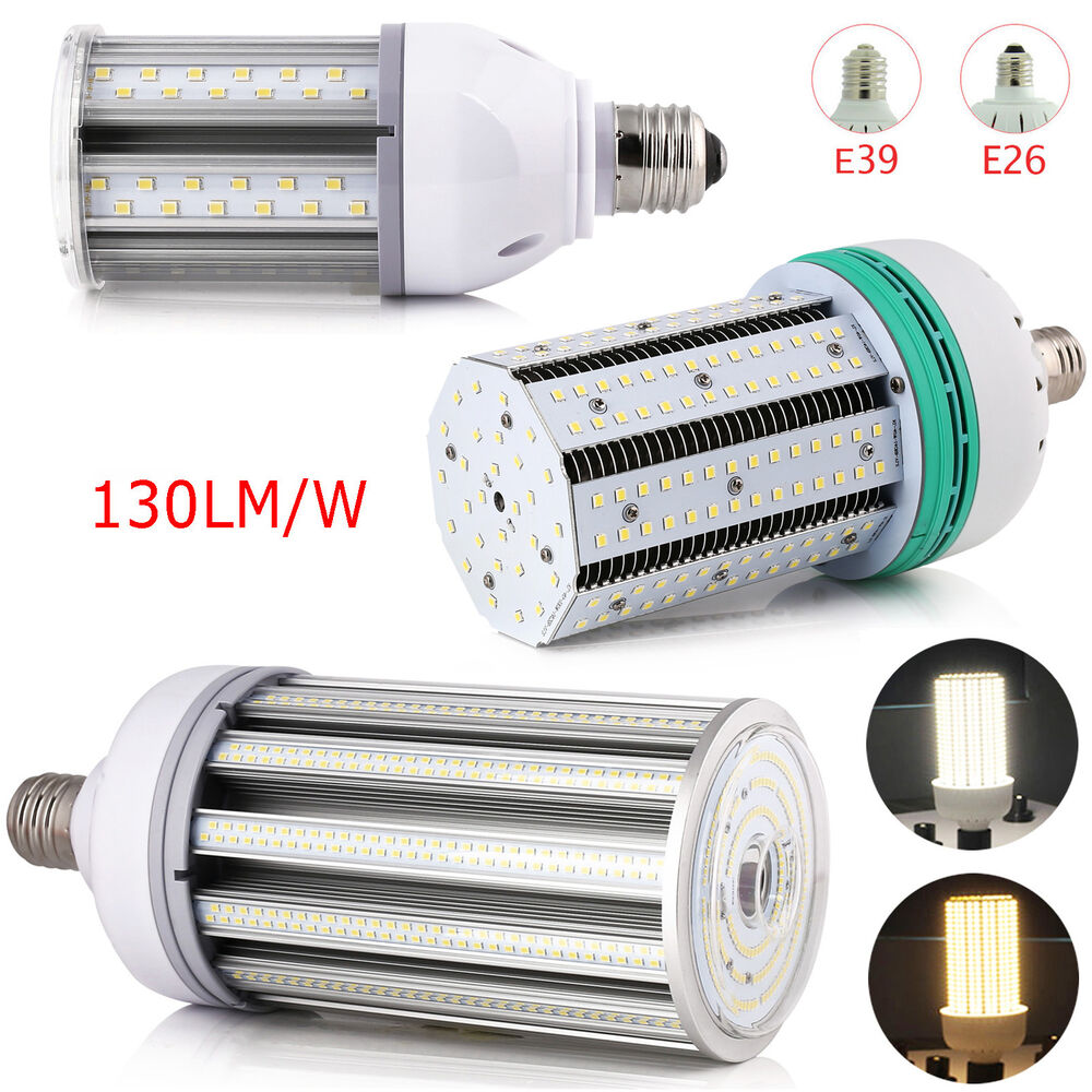 waterproof ip64 ip22 60w 80w 100w 150w led corn bulb e27 mogul base39 light lamp ebay. Black Bedroom Furniture Sets. Home Design Ideas
