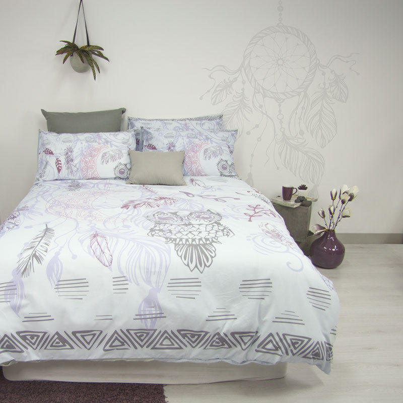 Retro Home Twilight Dream Catcher Quilt Doona Cover Set
