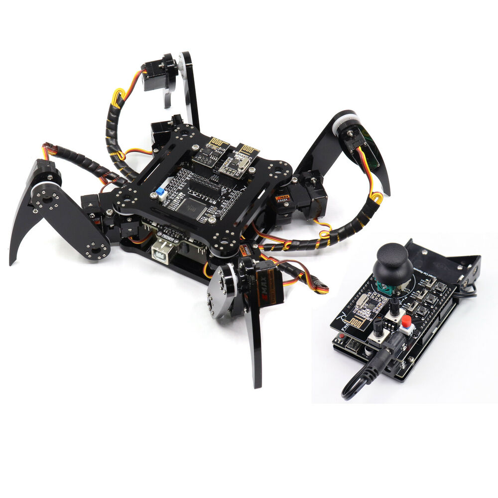 Freenove quadruped arduino robot kit include servo and
