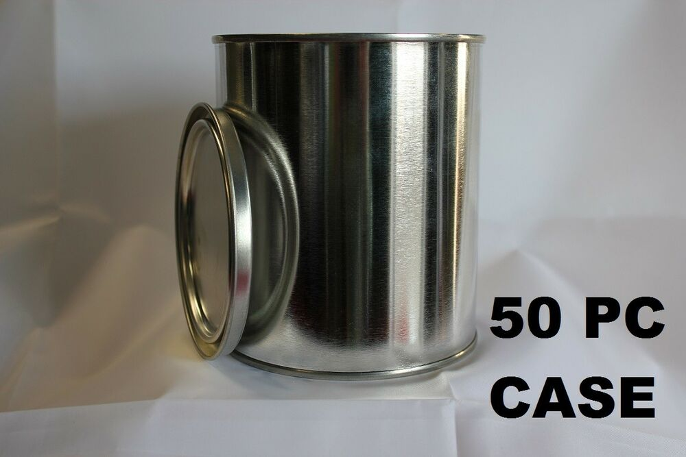 50 Pint Metal Paint Cans With Lids New Empty 50 Cans Amp 50
