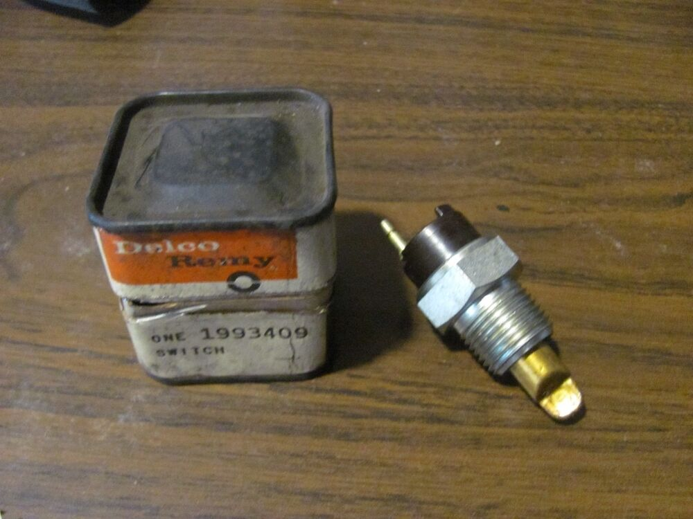 Nos 1970 70 Camaro Nova Ss 396 Temp Sender Switch 1993409