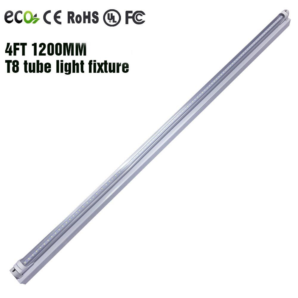 4' FT 18W LED Shop Light Garage Ceiling Fixture CLEAR
