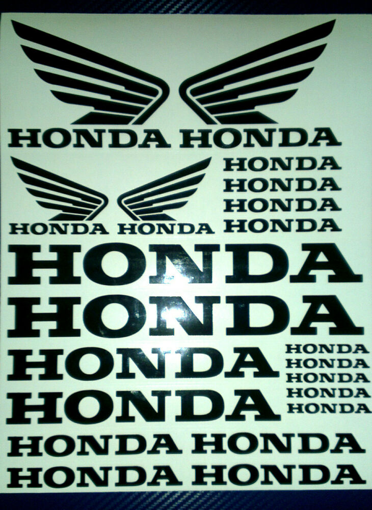 Honda And Honda Wings Tank Motorcycle Van Car Vinyl Decals. Sand Banners. Radiograph Signs. Racing Vw Stickers. Legionella Signs. Bird Hunting Decals. Internet Wifi Banners. Drawing Signs. Pancoast Tumour Signs