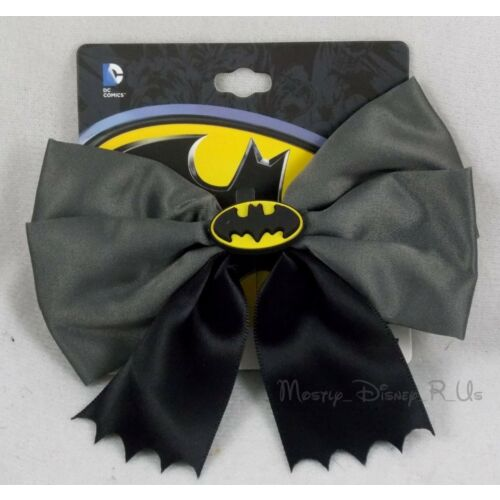 new-dc-comics-cosplay-batman-bat-logo-bow-tie-halloween-costume-hair-clip