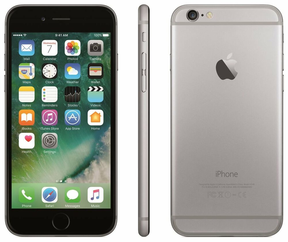 new overstock apple iphone 6 16gb space gray grey. Black Bedroom Furniture Sets. Home Design Ideas