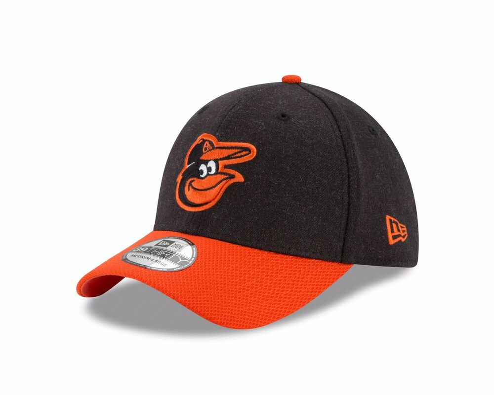 competitive price e2348 02e4a ... day 9twenty adjustable hat 21e9c c1b2f  discount code for details about baltimore  orioles new era heathered black orange change up redux 39thirty