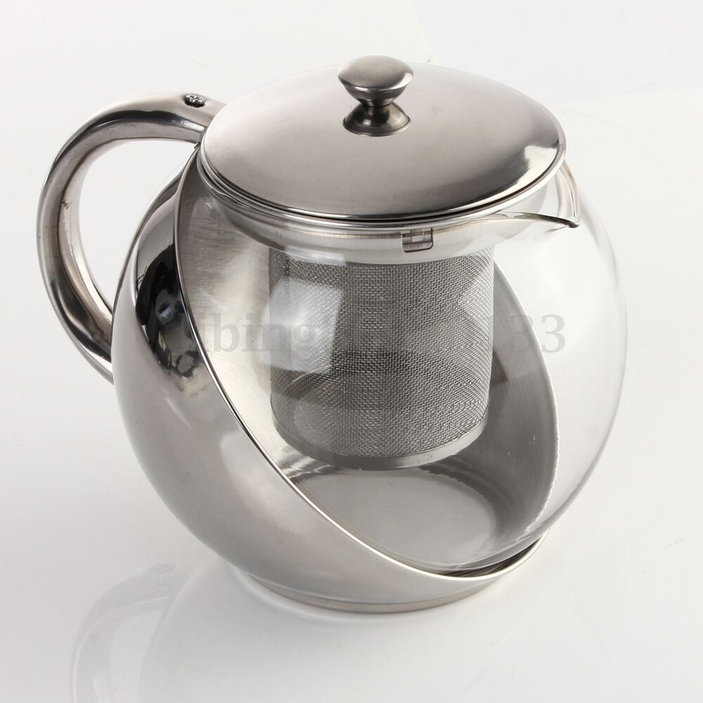 Decorative Glass Teapot