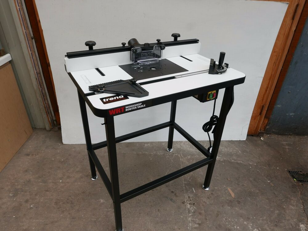 Trend router table ebay brand new trend wrt floor standing workshop router table 230v greentooth Choice Image