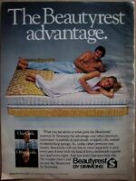 1981 Beautyrest by Simmons Bed Mattress Ad