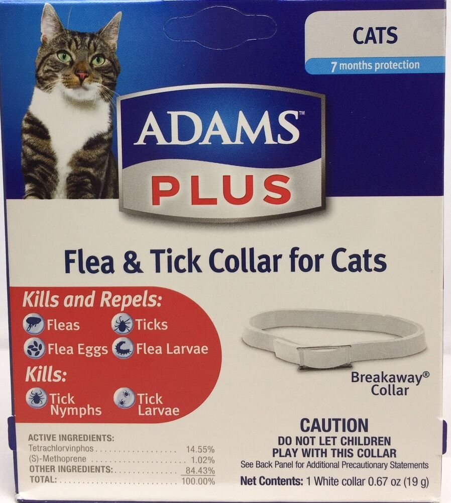 Adams Plus Flea Eggs Amp Tick Collar For Cats Up To 7 Month