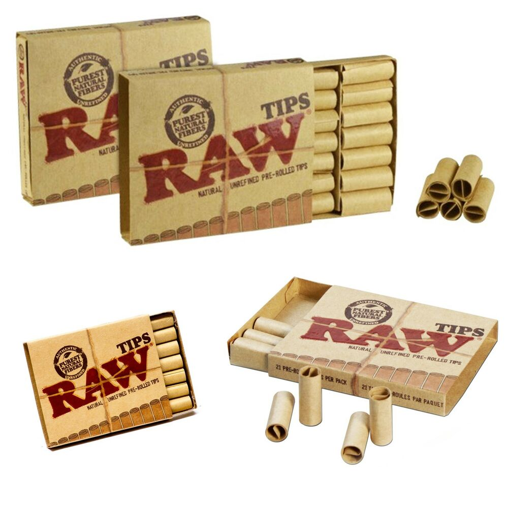 Pre Rolled Raw Rolling Filter Tips Roaches Roach Paper