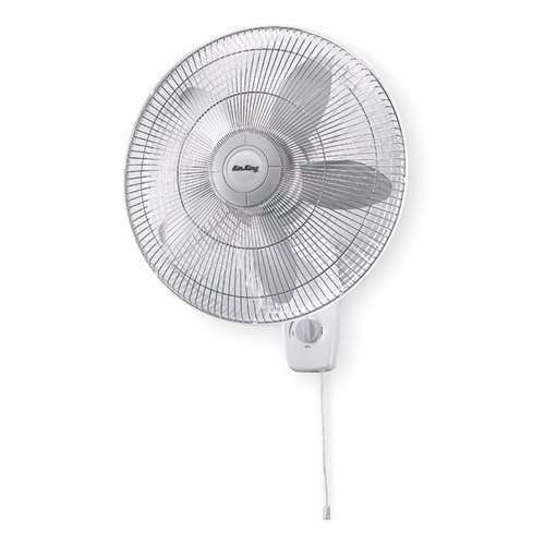 Air King 18 Quot Blade Quiet Motor Oscillating Wall Mount Fan