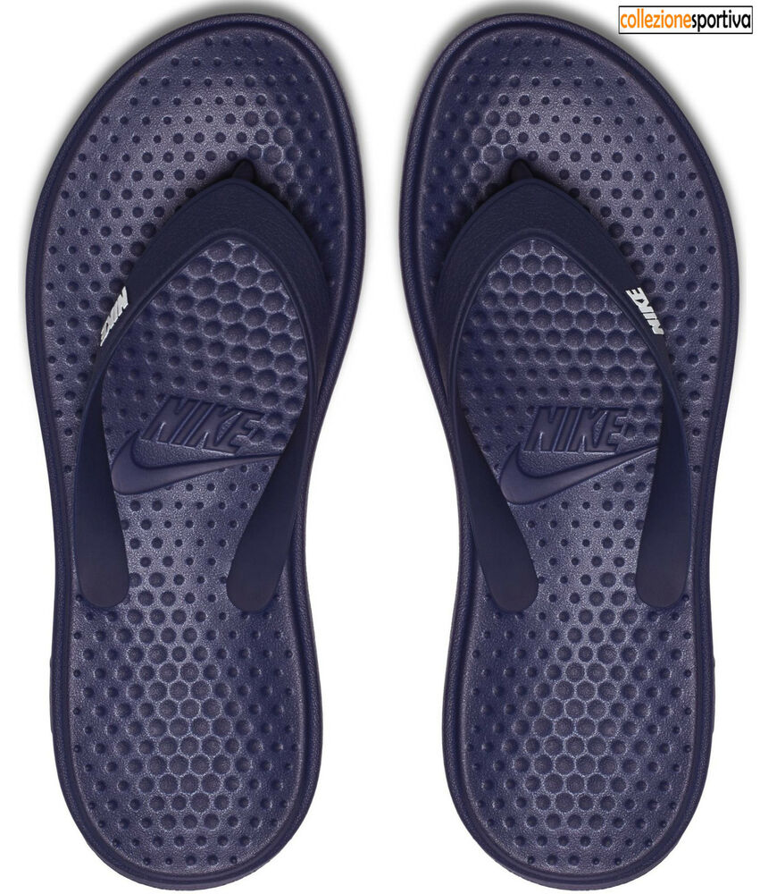 CIABATTE INFRADITO UOMO/DONNA NIKE SOLAY THONG 882690400 col. blu/bianco
