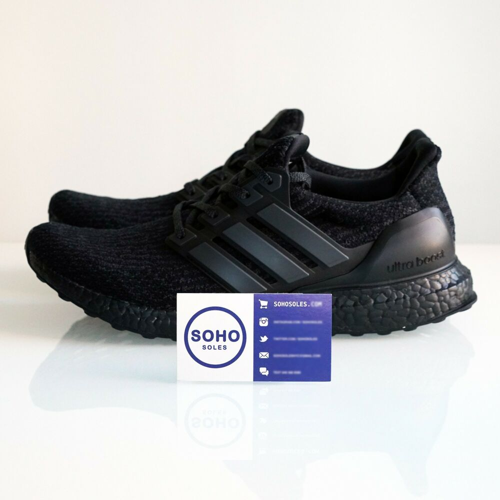 adidas ultra boost 3 0 ltd triple black ba8920 size 7. Black Bedroom Furniture Sets. Home Design Ideas