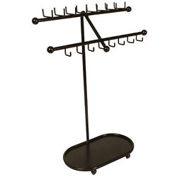 Designers Impressions JR21-ORB Oil Rubbed Bronze Standing Tree Jewelry Rack