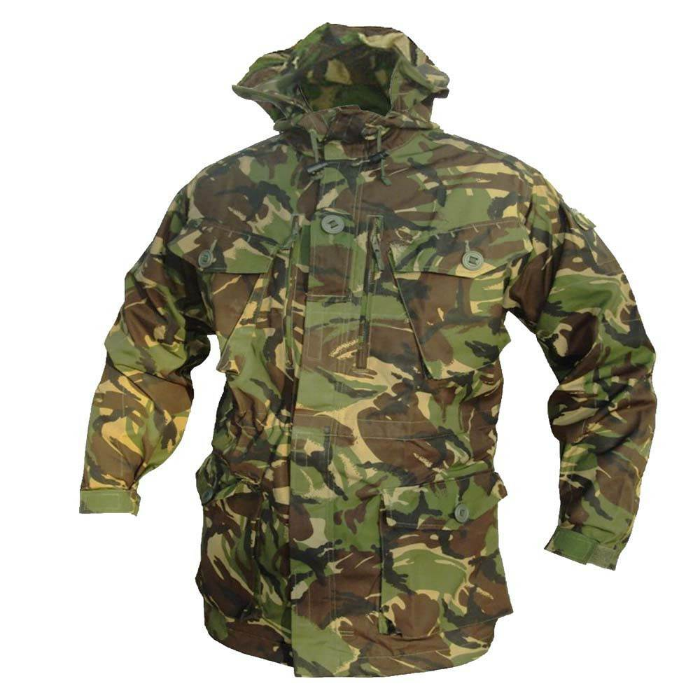 7f124f47ff6 Details about GENUINE BRITISH ARMY SMOCK COMBAT MILITARY CAMOUFLAGE CAMO  CADET FIELD JACKET