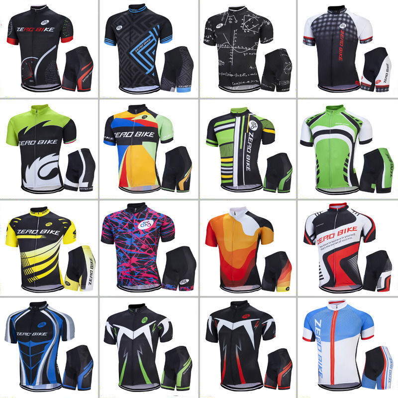 Details about Mens Sports Wear Team Cycling Jersey Sets Bike Bicycle Top  Short Sleeve Clothing 98c3f744e