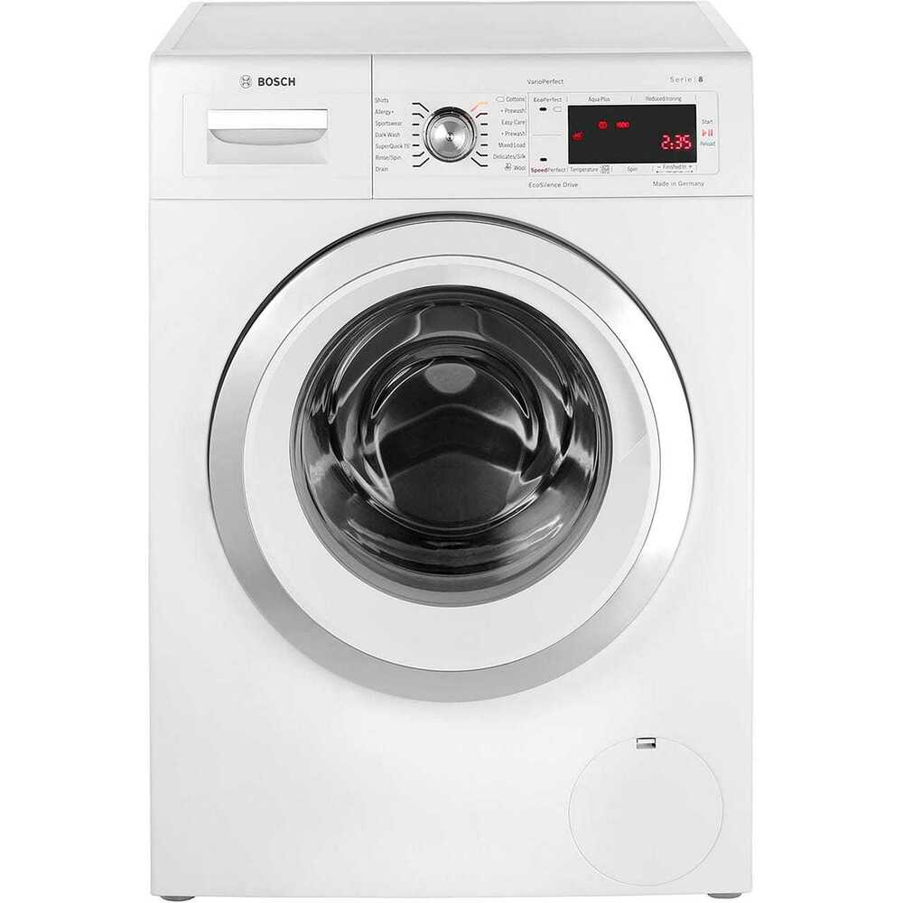 bosch waw32450gb serie 8 a 9kg washing machine white new from ao ebay. Black Bedroom Furniture Sets. Home Design Ideas