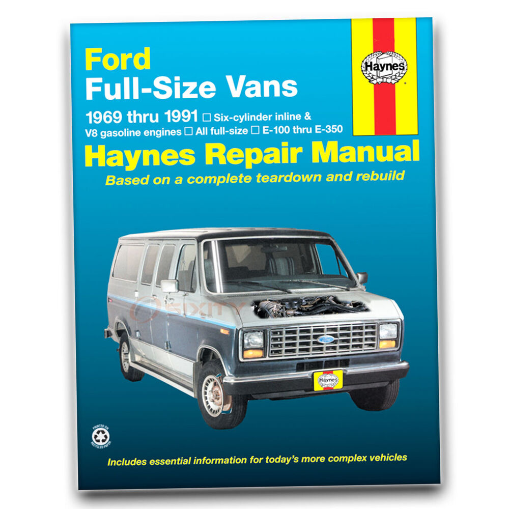 Haynes Repair Manual for Ford E-150 Econoline Club Wagon Chateau XL XLT ap  | eBay