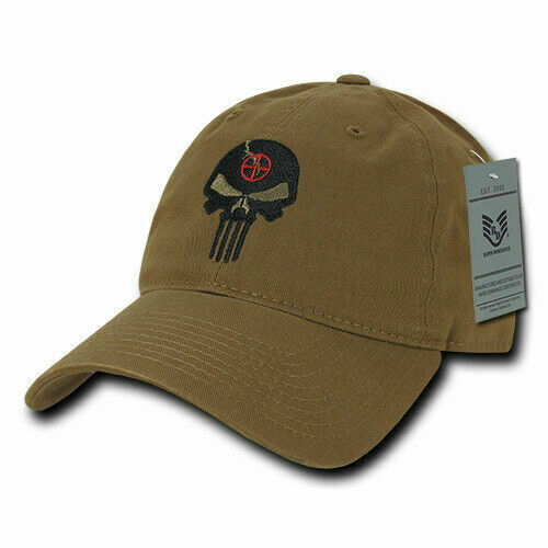New Marvel Punisher Hat Skull Embroidered Cyb Baseball Cap