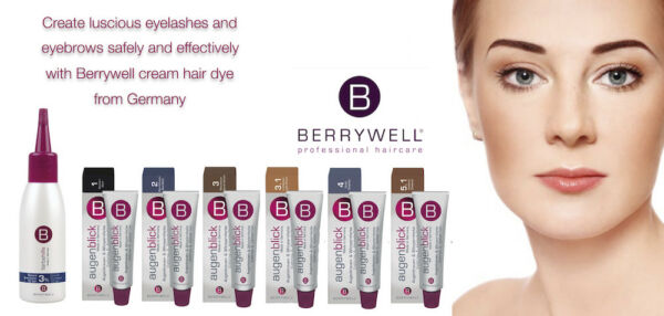 Berrywell Eyelash Eyebrow Tint (5 colors to choose from) or Cream Developer