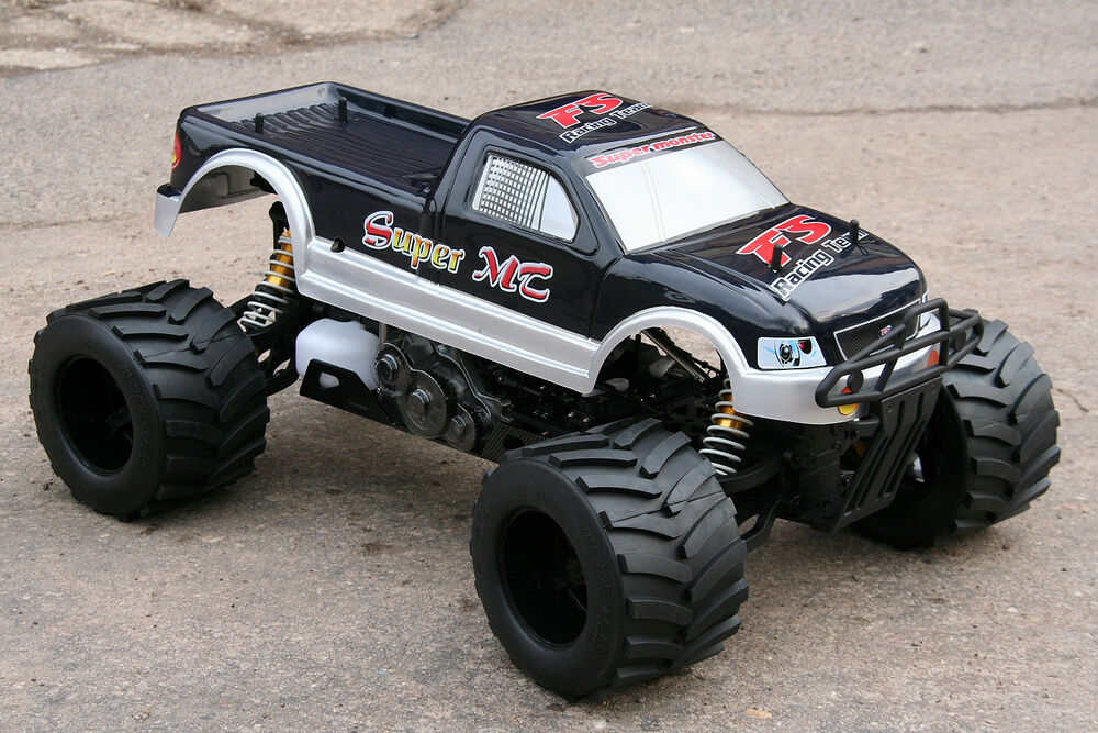 xtc rc mega monster truck 1 4 4x4 rtr 35ccm 4ps 80km h. Black Bedroom Furniture Sets. Home Design Ideas