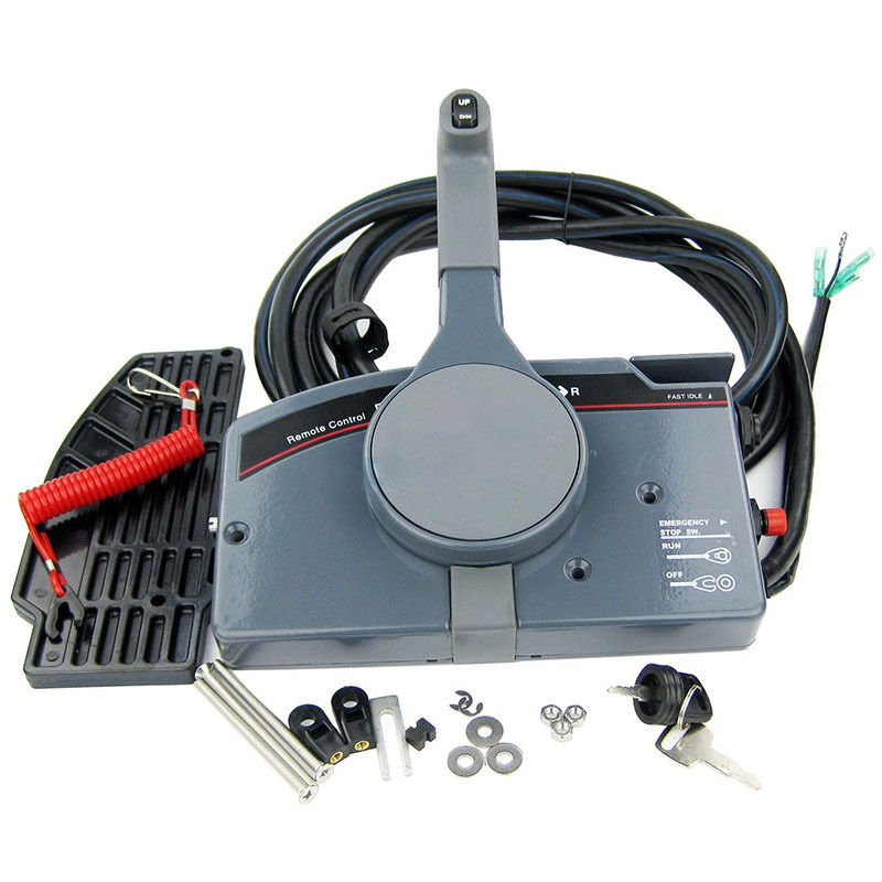 Pull Throttle Outboard Remote Control Box 703 For Yamaha