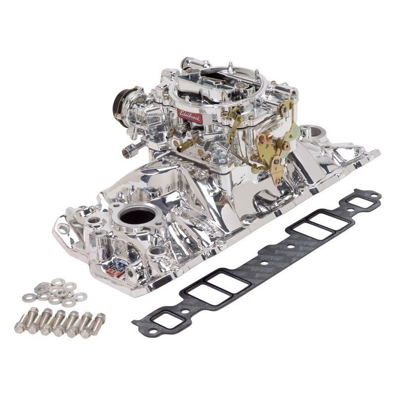 For Chevy Camaro 67-86 Intake Manifold And Carburetor Kit