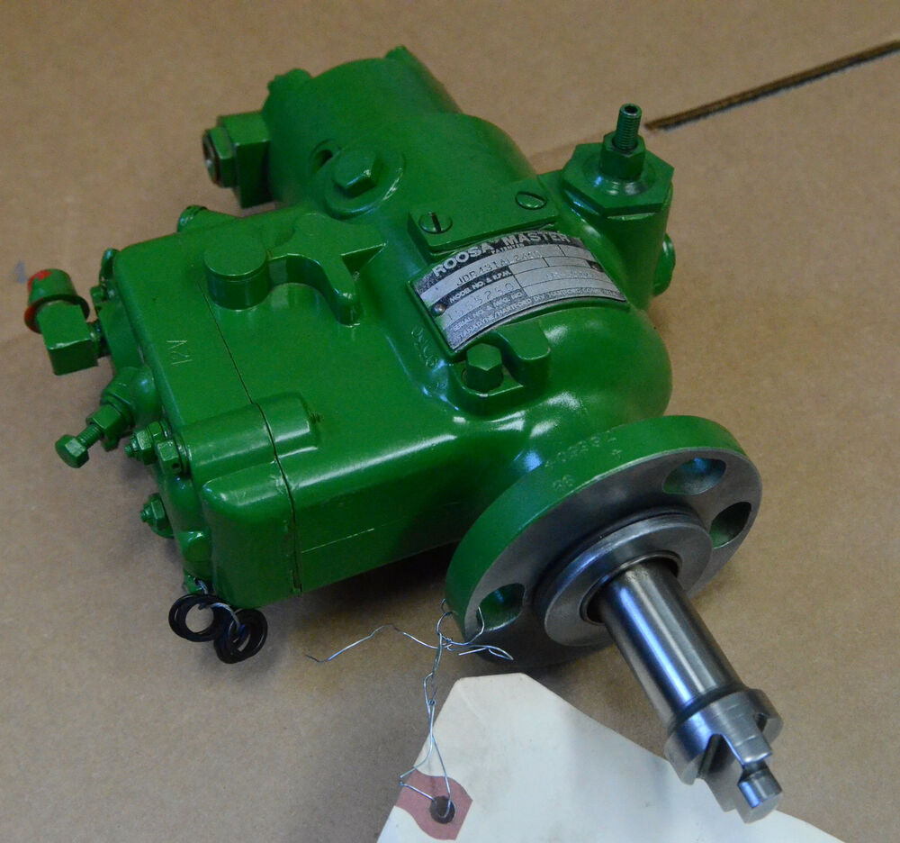 John Deere Diesel Injectors : Ar john deere fuel injection pump se