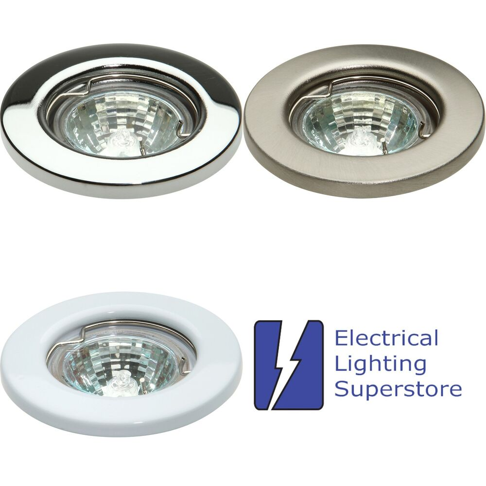 Mr16 Led Downlights Uk: MR11 12V Low Voltage Fixed Small Downlight Recessed