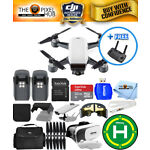 DJI Spark Quadcopter 2 BATTERY EXTREME ALL YOU NEED PRO BUNDLE BRAND NEW